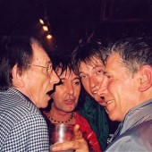 Art Wood, Jasper , Bob and friend Georgie Rix - Eel Pie Showcase for Sony Records, Twickenham