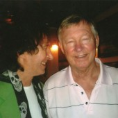 Sir Alex Ferguson and Bob in the caribbean - VIP private gig